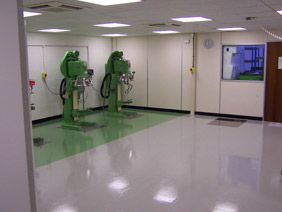 Hygienic flooring solutions